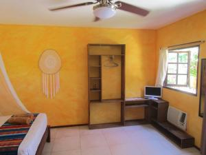 Zona de estar de Casa Abanico Tulum