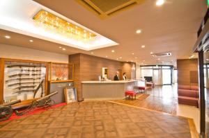 Лобби или стойка регистрации в Tanegashima Araki Hotel
