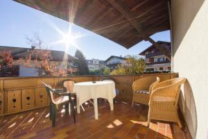 Ein Balkon oder eine Terrasse in der Unterkunft Pension Lafod