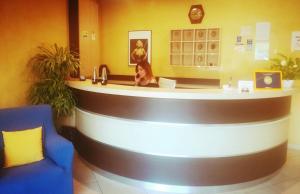Hall o reception di New Hotel Europa