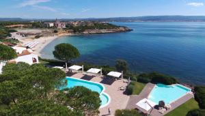 A view of the pool at Hotel Punta Negra or nearby