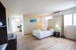 Cama ou camas em um quarto em Rancho el Sobrino