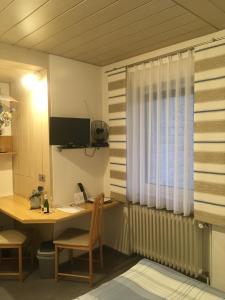 TV/Unterhaltungsangebot in der Unterkunft Pension Haus Wanninger