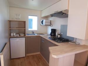 Een keuken of kitchenette bij Park Kerlinga