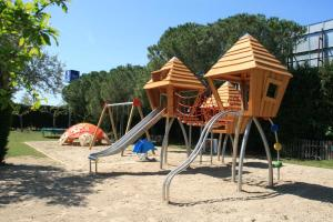 Children's play area at Camping La Pineda de Salou