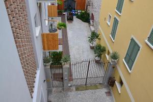 A balcony or terrace at Residenza Diana