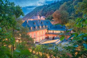 Blick auf Hotel Hartl's Lindenmühle aus der Vogelperspektive
