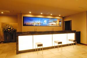 京都四條堀川 AB 飯店電視和/或娛樂中心