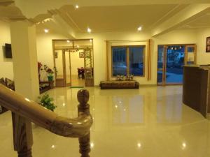 The lobby or reception area at Shaolin Ladakh