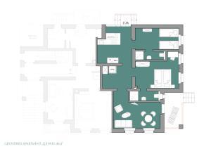 Grundriss der Unterkunft Villa Elbufer