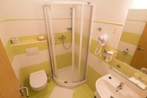Koupelna v ubytování Penzion Maděřič