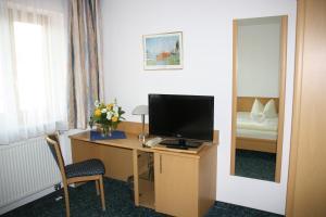 TV/Unterhaltungsangebot in der Unterkunft Hotel Jagermo