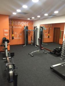 The fitness center and/or fitness facilities at Absolute Hotel Limerick