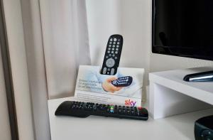 TV/Unterhaltungsangebot in der Unterkunft  Ferienappartement Mönchgut 14