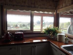 A kitchen or kitchenette at Deloraine comfort