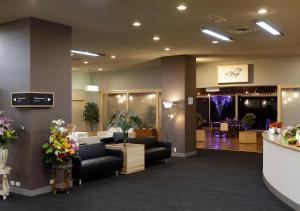 The lobby or reception area at International Hotel Tamatsukuri