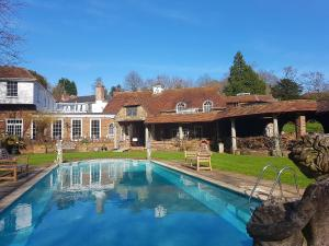 The swimming pool at or close to Powdermills Country House Hotel