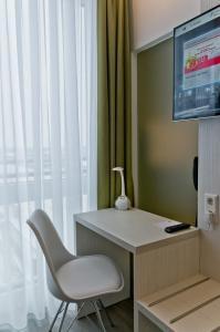 تلفاز و/أو أجهزة ترفيهية في Super 8 by Wyndham Munich City West