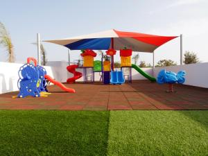 Children's play area at Amethyst Napa Hotel & Spa
