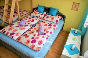 A bed or beds in a room at Edita Inn 40m2 Close PVA Letňany
