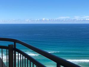Uma vista do mar geral ou uma vista do mar a partir do aparthotel