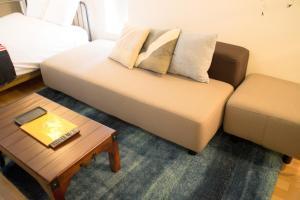 Art Apartment AOCA Sanno ARMYにあるベッド
