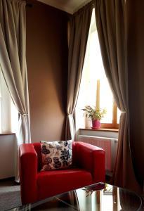 Posezení v ubytování Hotel Merlot