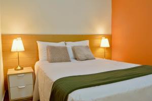 Cama o camas de una habitación en Apartamentos Champs-Élysées