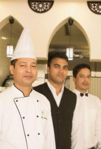 Staff members at Down Town Jeddah