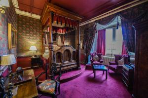 A seating area at Lumley Castle Hotel