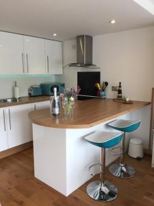 A kitchen or kitchenette at Mi-Pad