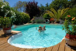 The swimming pool at or close to Le Mas Des Oliviers En Provence Verte