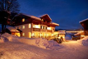Hotel Garni Ransburgerhof im Winter
