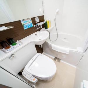 A bathroom at Super Hotel Premier Musashi Kosugi Ekimae