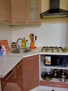 Кухня или мини-кухня в Studio 55