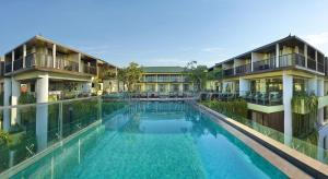 The swimming pool at or near Mercure Bali Legian