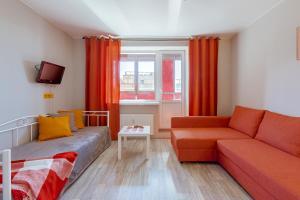 Гостиная зона в Apartment on Shkapina, D. 9-11