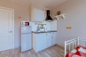 Кухня или мини-кухня в Apartment on Shkapina, D. 9-11