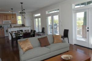 A seating area at Seaside Haven Three-Bedroom Home