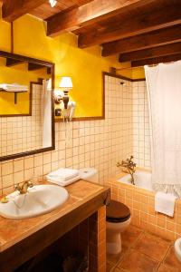 A bathroom at La Corte de Lugás