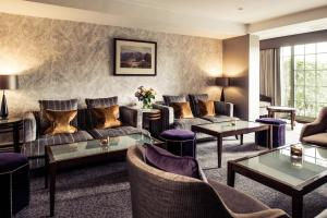A seating area at Rothay Garden Hotel & Riverside Spa