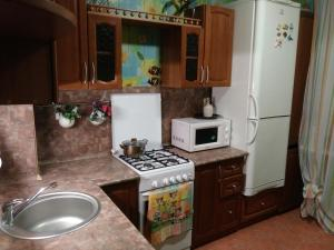 A kitchen or kitchenette at Apartment Harmony