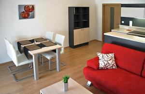 Posezení v ubytování Apartmína