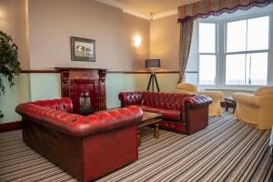A seating area at Royal Lion Hotel