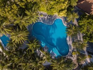منظر المسبح في كورومبا المالديف او بالجوار