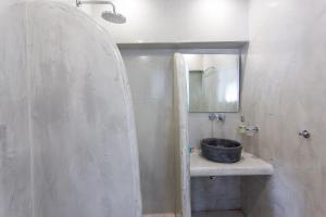Łazienka w obiekcie Sunset Hotel