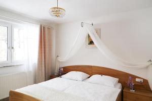 Ein Bett oder Betten in einem Zimmer der Unterkunft Fricks Appartement