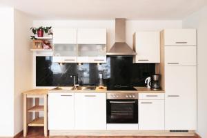 Küche/Küchenzeile in der Unterkunft Fricks Appartement