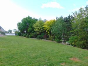 A garden outside La chauviere