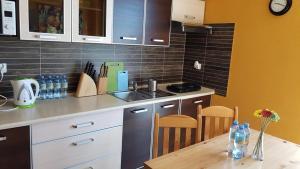 Kuchnia lub aneks kuchenny w obiekcie Villa Alex